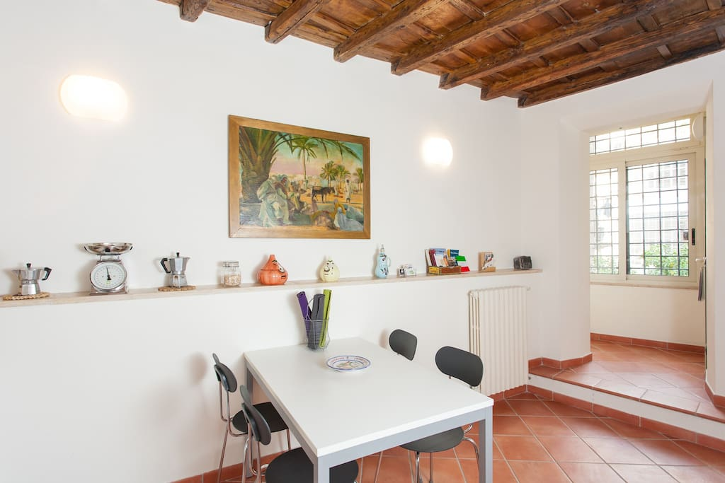 Overnachten in Rome: appartement Casa Cimini