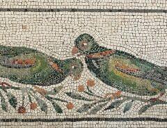Romeinse mozaïeken in het Palazzo Massimo in Rome