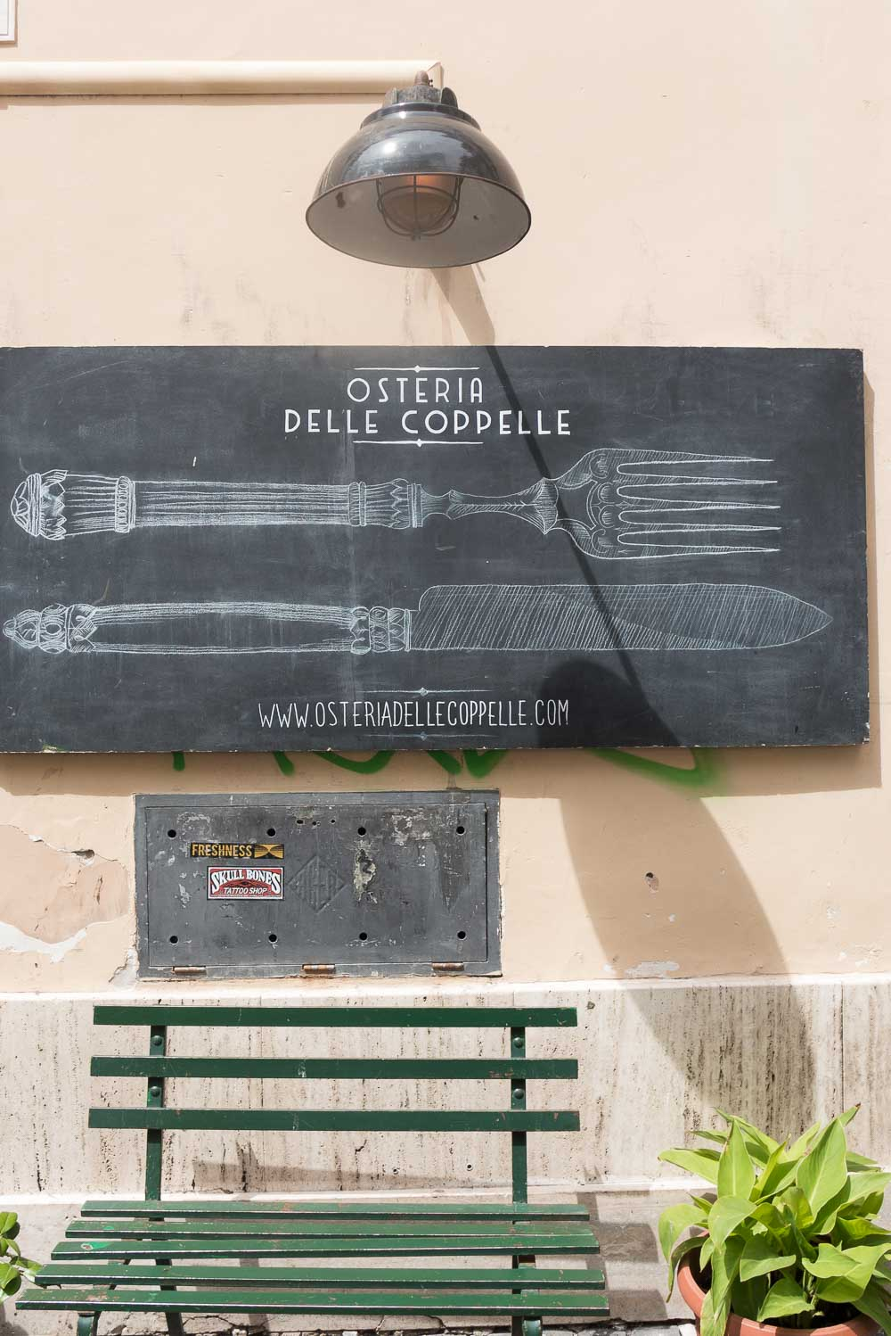 Restaurants in Rome: open in augustus - Osteria delle Coppelle