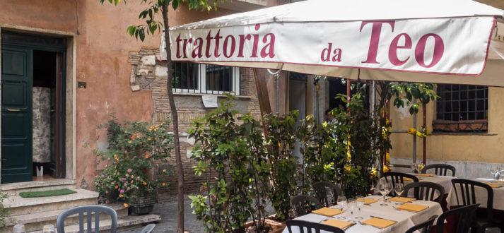 Restaurants in Rome: open in augustus