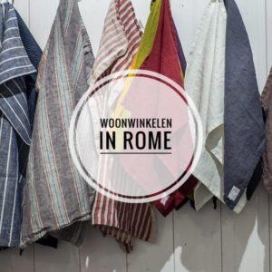 Woonwinkelen in Rome