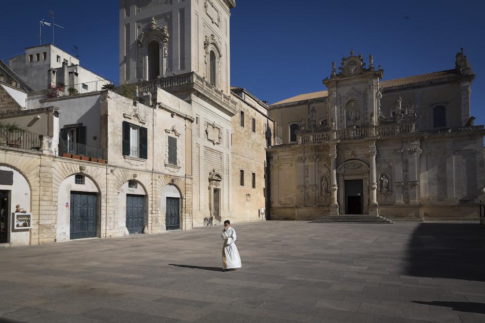 Barokstad Lecce in de Salento, Puglia
