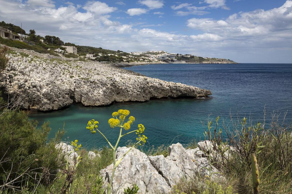 Fietsen langs de kust van de Salento
