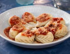 Een van de bekendste specialiteiten van Sardinië - culurgiones