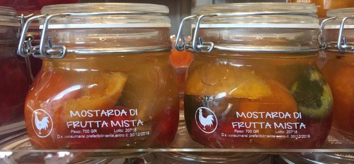Specialiteiten van Mantova - mostarda