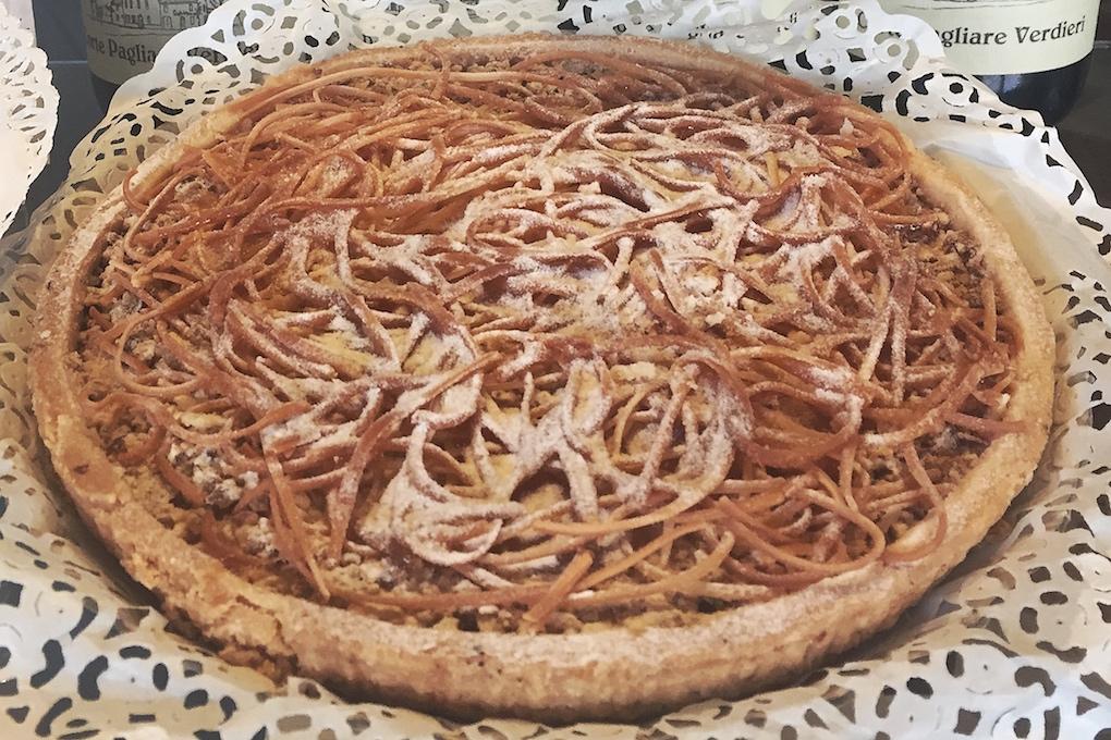 Specialiteiten van Mantova - torta di tagliatelle