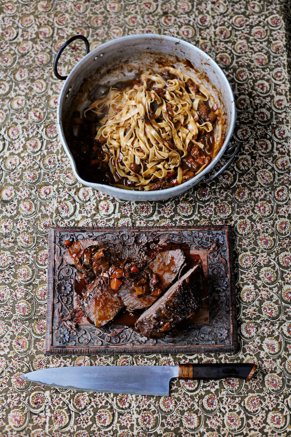 Italiaans recept - stracotto van Jamie Oliver