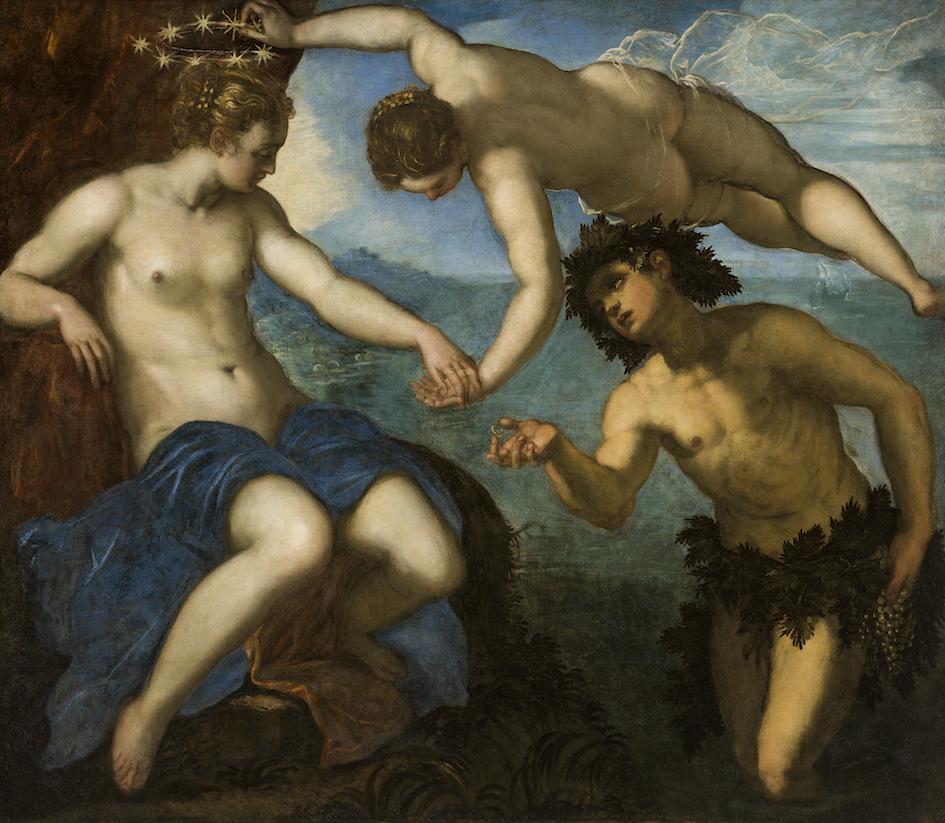 Tintoretto - Le nozze di Bacco e Arianna