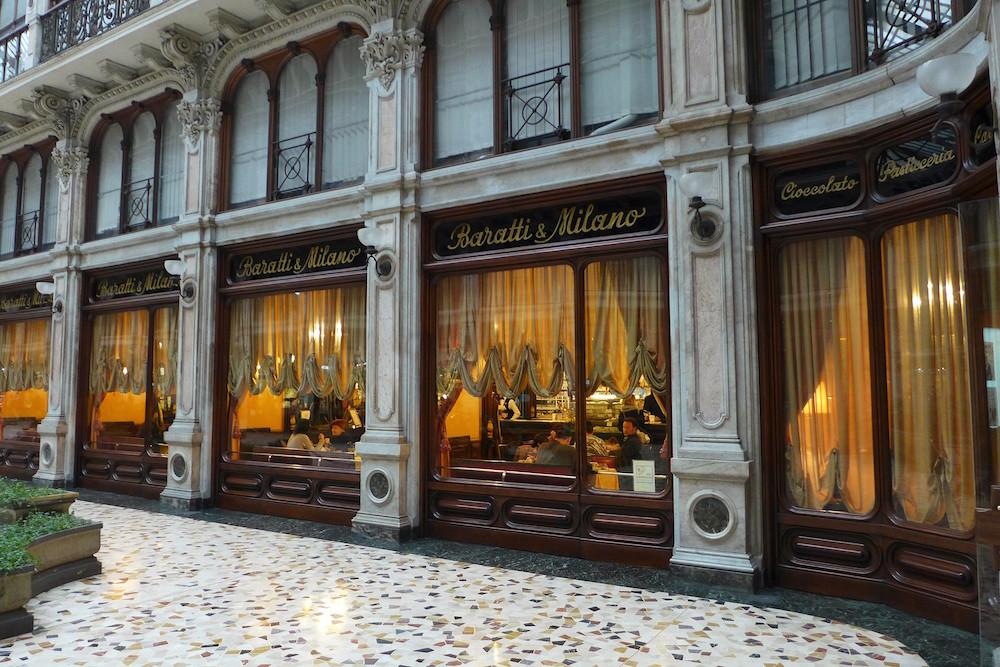 Baratti & Milano in Turijn