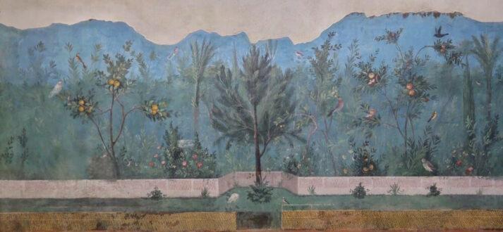 Frescoschildering uit de Villa di Livia bij Rome