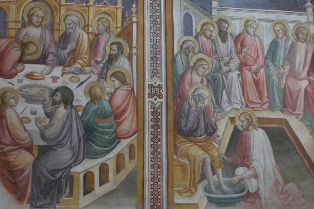 Fresco's in de Officina Profumo-Farmaceutica di Santa Maria Novella in Florence