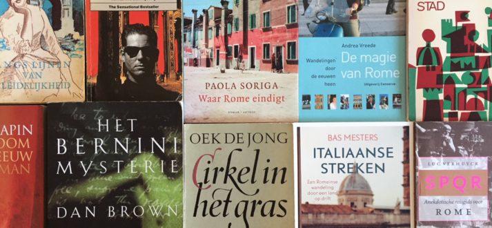 boeken lezen over Rome