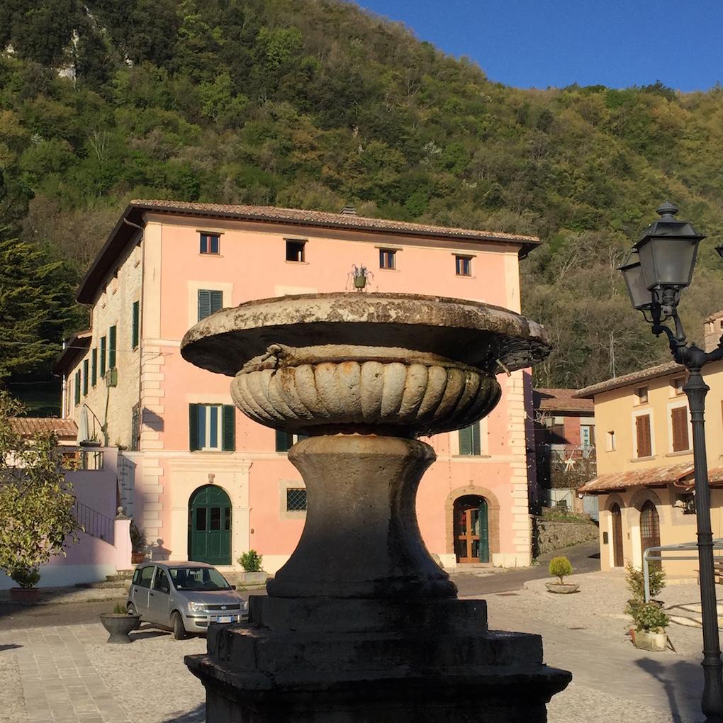 Greccio, een van de borghi più belli d'Italia