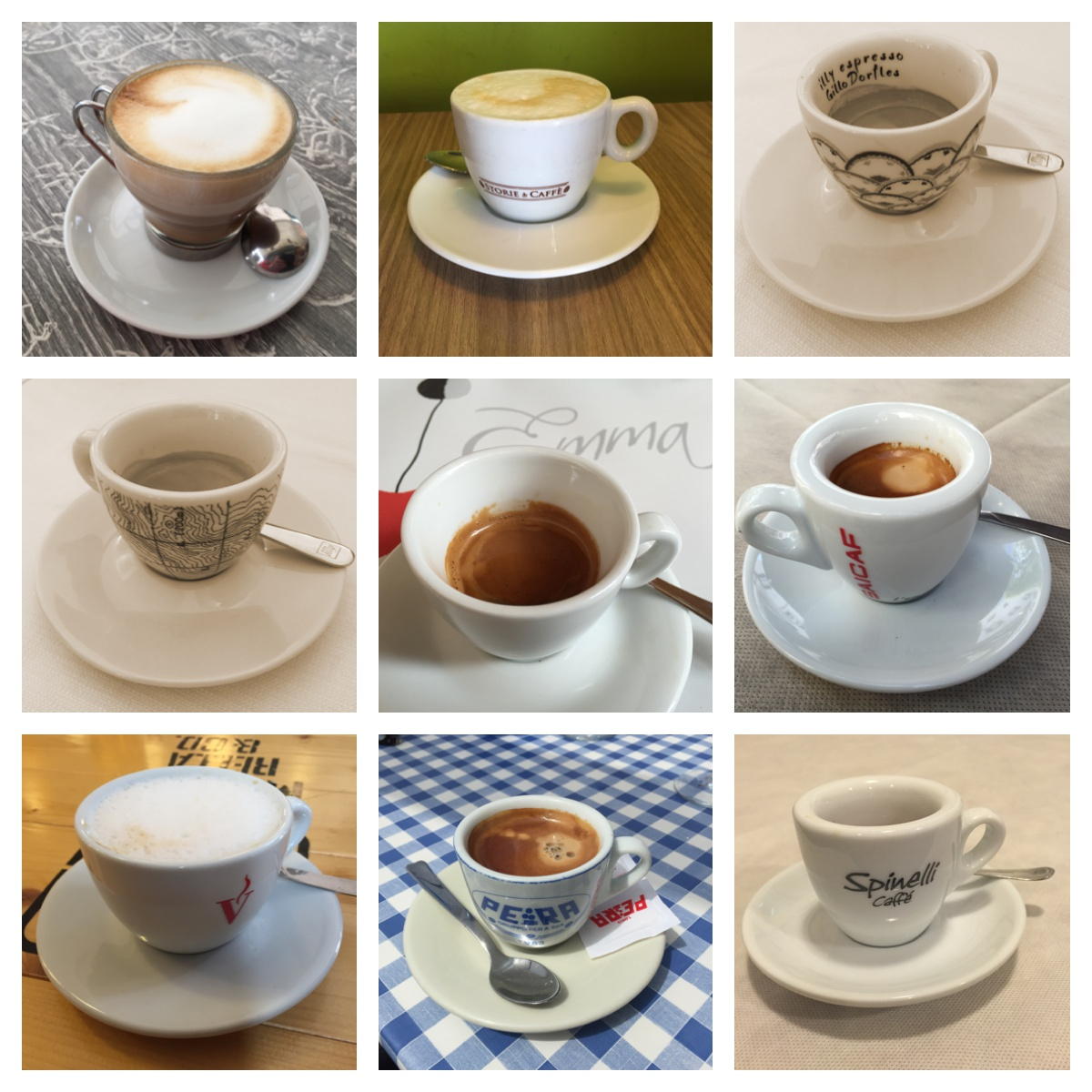 Koffie in Italië - van caffè tot latte macchiato