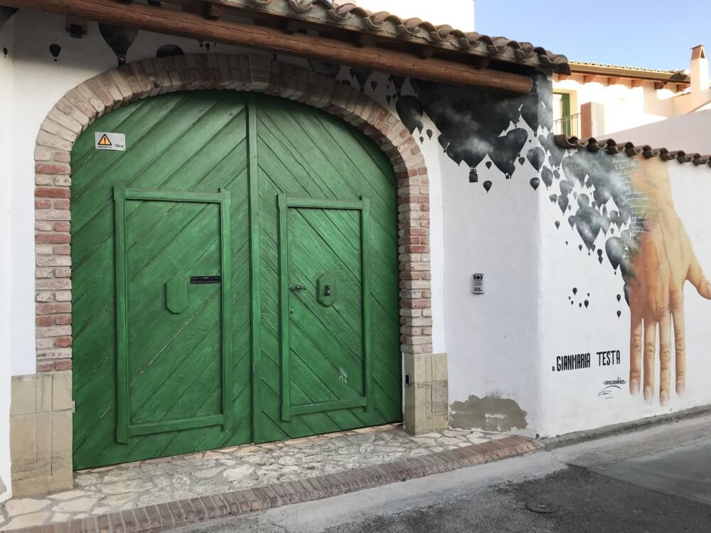 Muurschilderingen op Sardinië