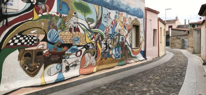 Murales in San Sperate - Sardinië