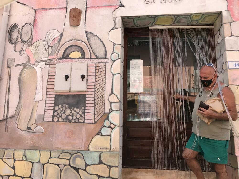 Pietro bij de Sardijnse bakker