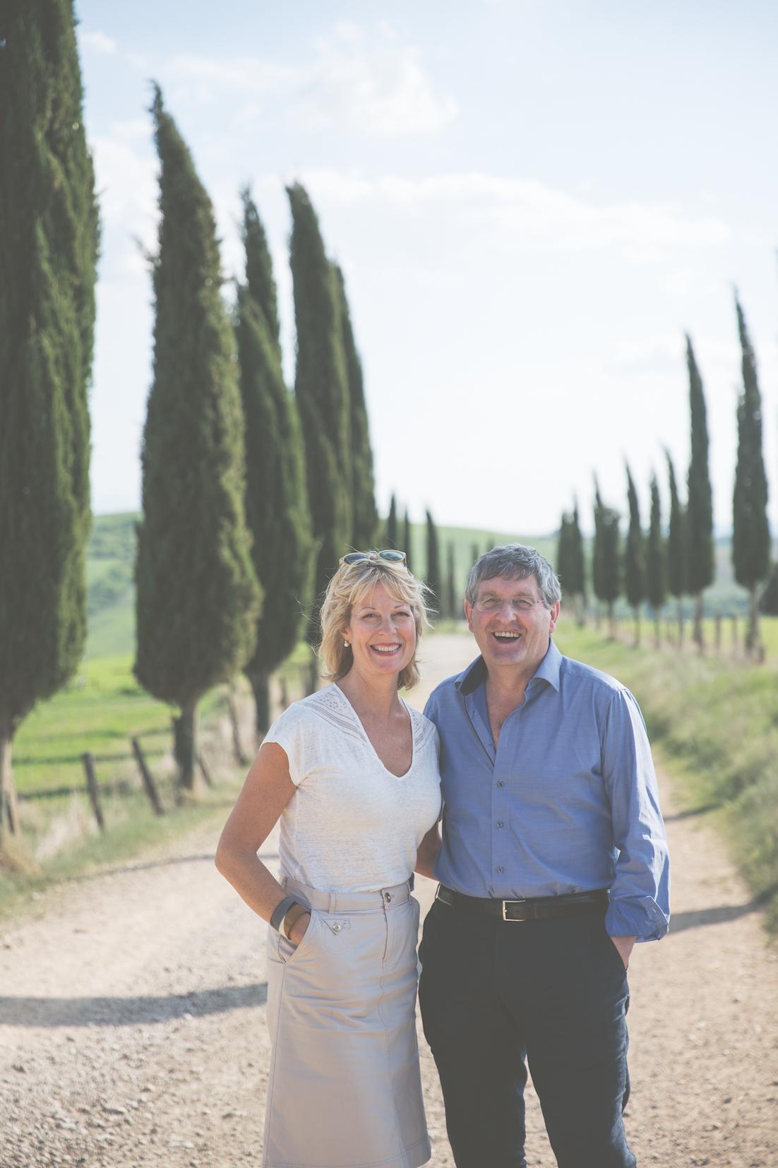 Giancarlo en Katie Caldesi