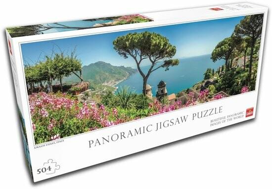 legpuzzel van Italië - Amalfikust panorama