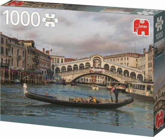legpuzzel van Italië - de Rialtobrug in Venetië