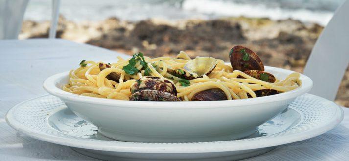 Spaghetti con le vongole, uit het kookboek Fratello & Sorella