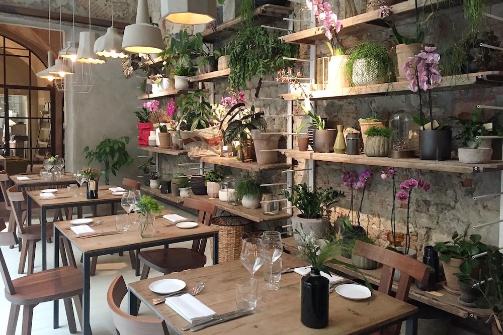 Concept-restaurant La Ménagère in Florence
