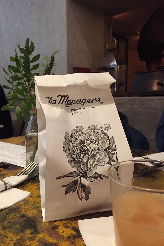 Uit eten in Florence - La Ménagère
