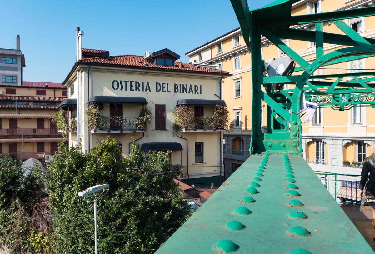 Uit eten in Milaan - Del Binari