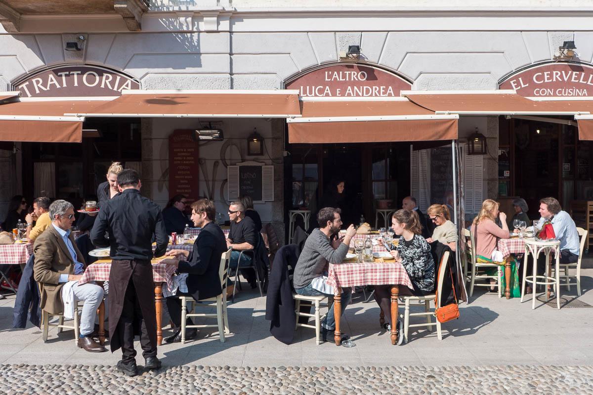 Uit eten in Milaan - Luca e Andrea