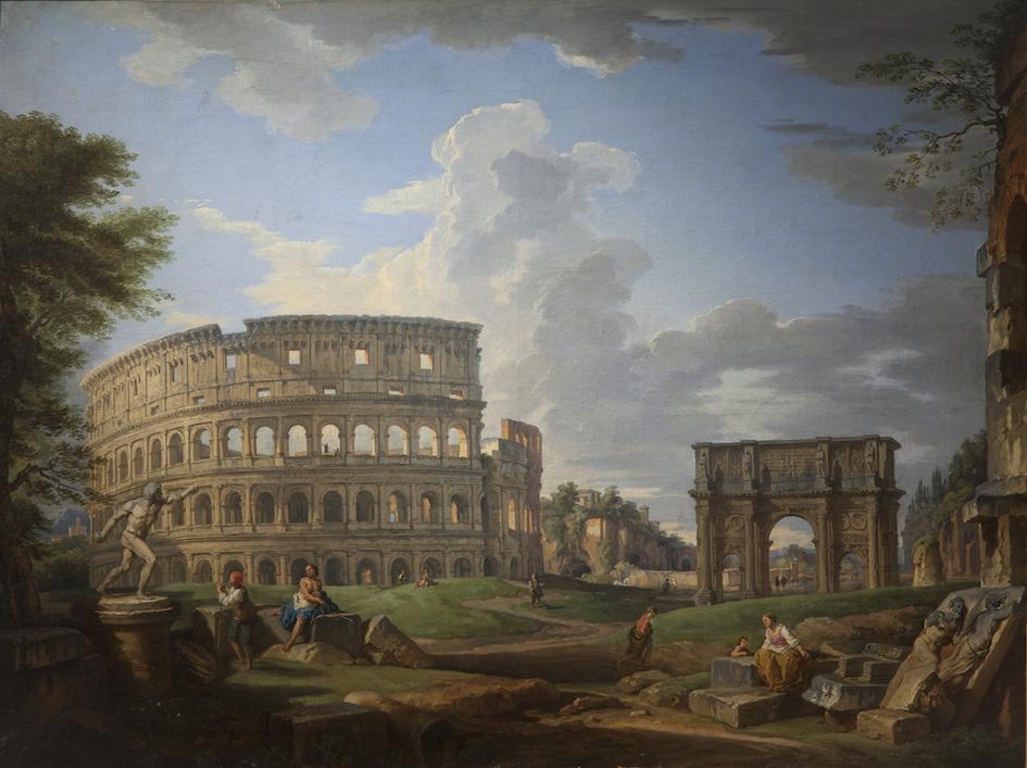 Giovanni Paolo Pannini, Vue du Colisée