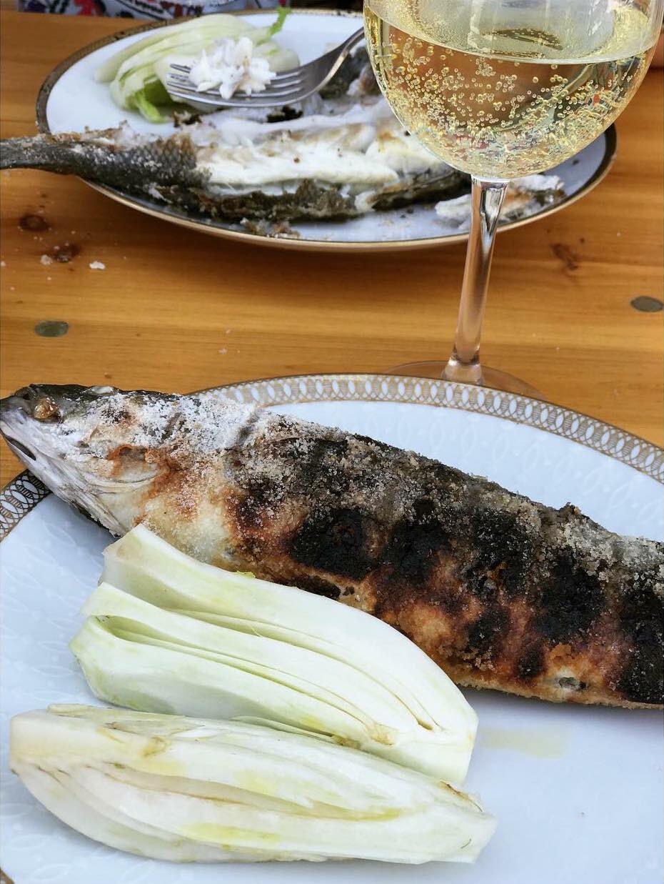 De pure smaken van Sardinië – zeebaars